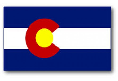 3'x5' Colorado State Flag Nylon