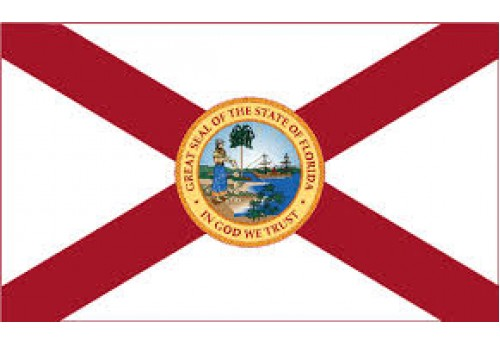 3'x5' Florida State Flag Nylon
