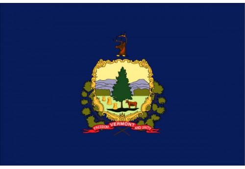 5'x8' Vermont State Flag Nylon