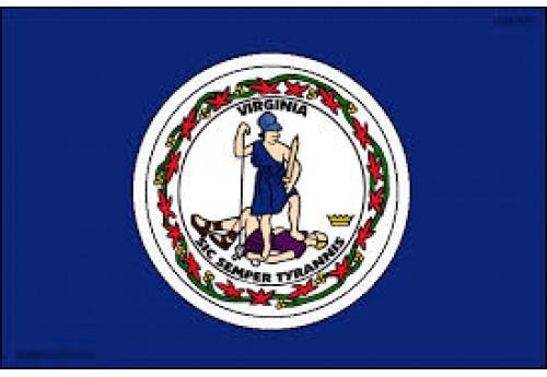 5'x8' Virginia State Flag Nylon