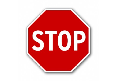 "18"" Stop Sign"