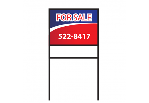 "18"" x 24"" Double Sided  Real Estate Sign"