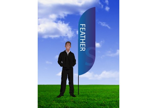 Feather Banner Stand- Small