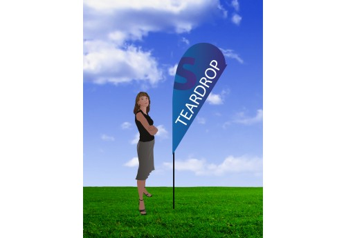 TearDrop Banner Stand- Small